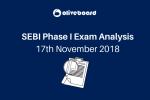SEBI Phase I Exam Analysis