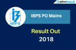 IBPS PO Mains Result 2018