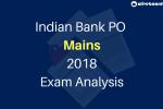 Indian Bank PO Mains Exam Analysis