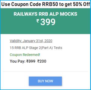 RRB ALP Mock Test