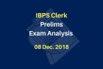 IBPS Clerk Prelims Exam Analysis