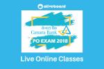 Canara Bank PO Live Online Classes