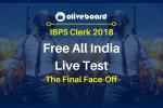 IBPS Clerk Live test 2018
