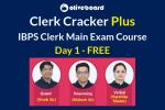 IBPS Clerk Main Exam Day 1 Free