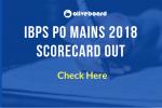 IBPS PO Mains 2018 Scorecard