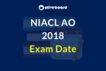 NIACL AO Exam Date 2018
