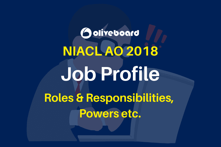 NIACL AO Job Profile