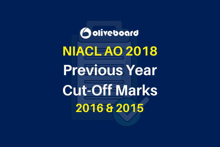 NIACL AO Previous Year Cutoff Marks