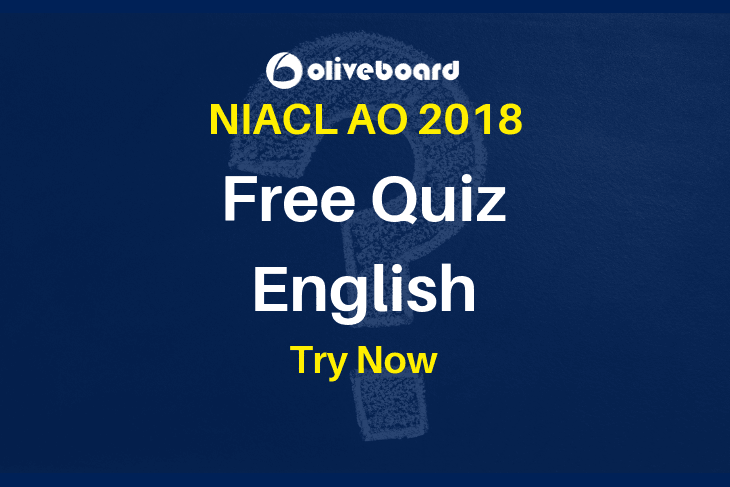NIACL AO Quiz English