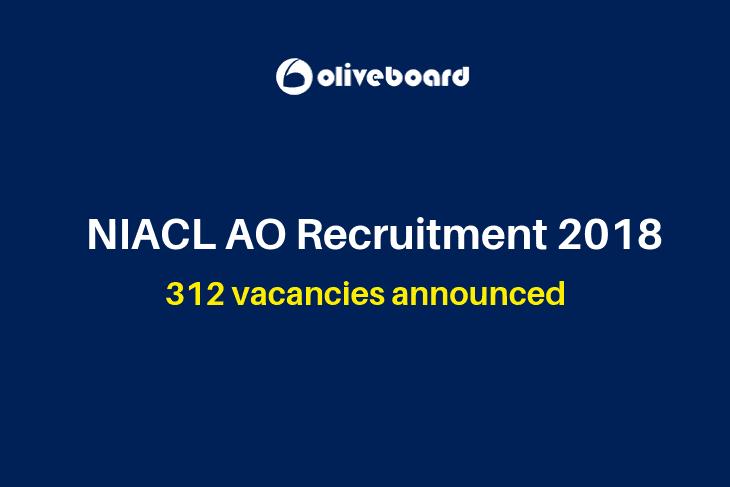 NIACL AO Recruitment