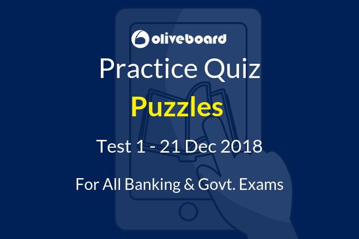 Puzzles Practice Quiz 1
