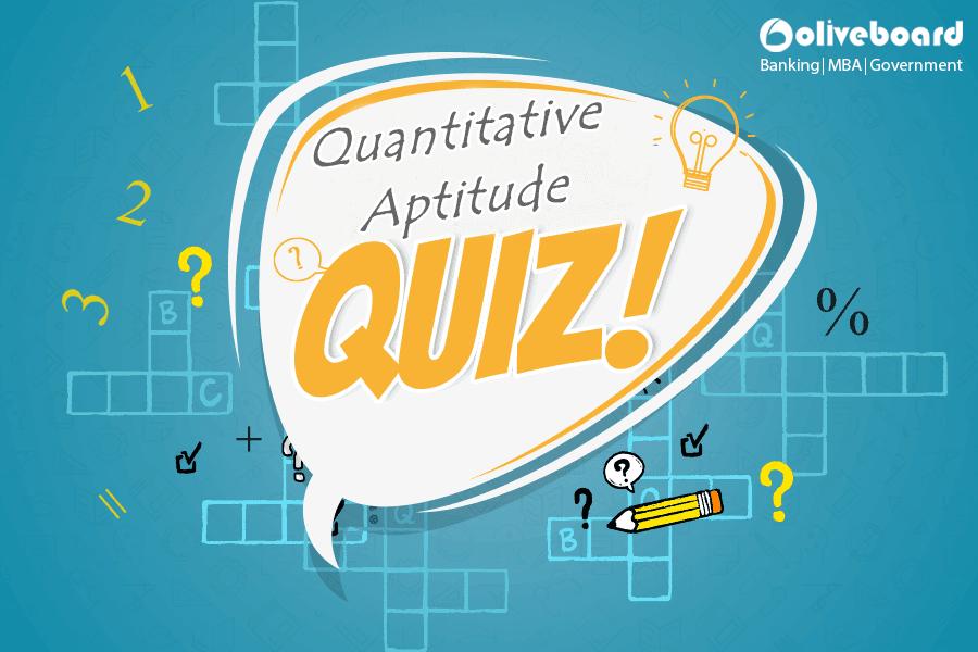 Free Quantitative Aptitude Quiz