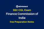 SSC CGL Preparation Notes FCI