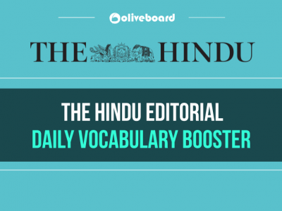 Hindu Editorial Daily Vocabulary Booster 25 December 2018
