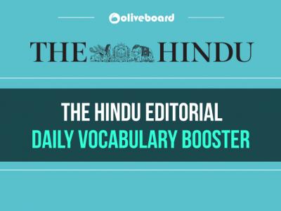 Hindu Editorial Daily Vocabulary Booster 26 December 2018