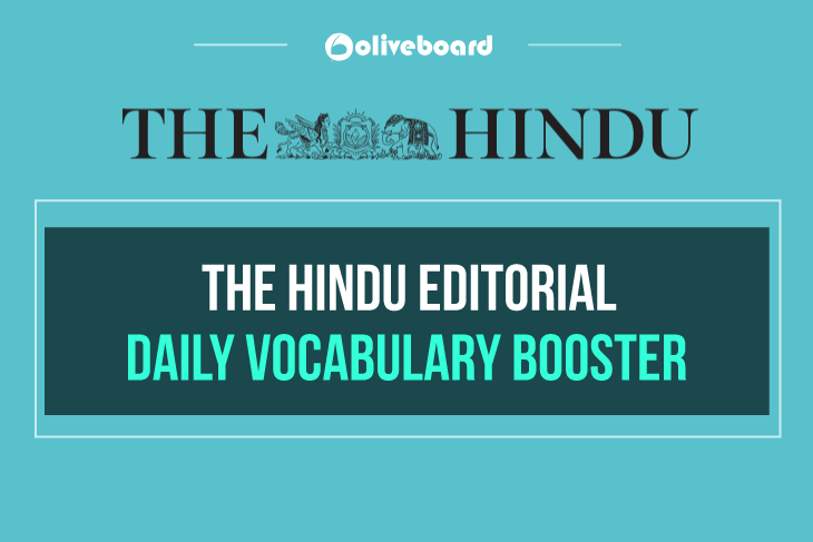 Hindu Editorial Daily Vocabulary Booster 20 December 2018