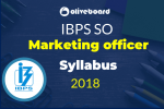 IBPS SO Marketing Officer Syllabus