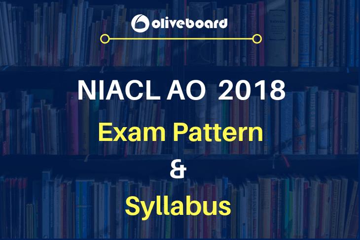 NIACL AO Exam 2018