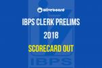 IBPS clerk prelims scorecard