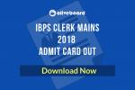 IBPS Clerk Mains Admit Card 2018