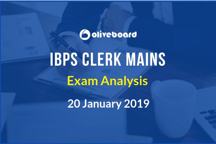 IBPS clerk 2018 mains exam analysis