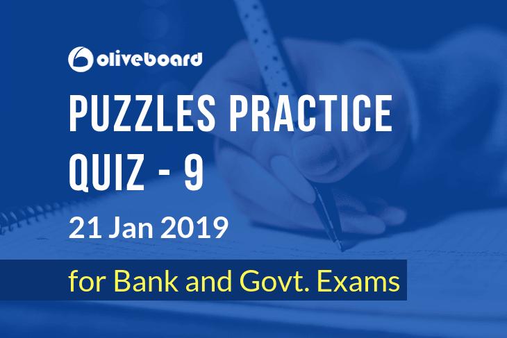 Puzzles Practice Quiz 9