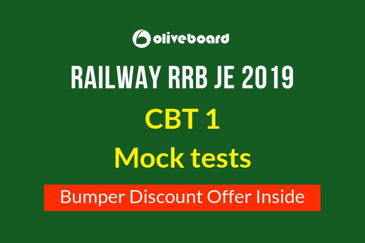 RRB JE Mock Test 2019