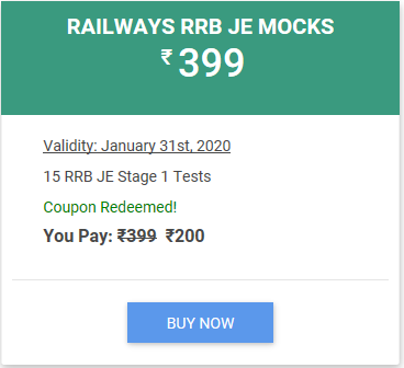 RRB JE code