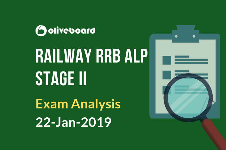 Railway RRB ALP Exam Analysis 22 jan 2019