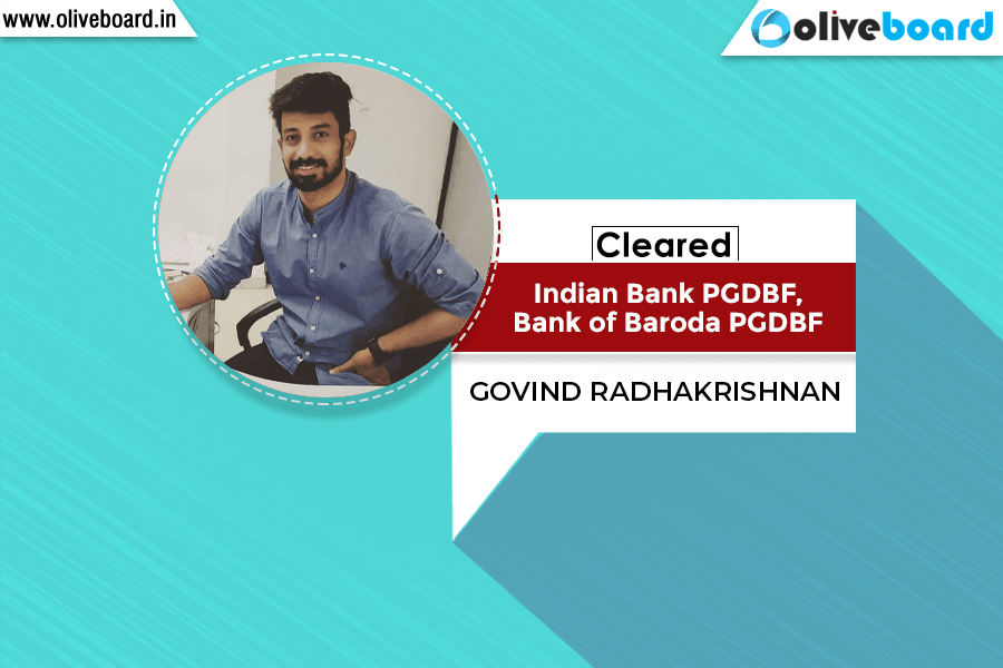 Success Story of Govind Radhakrishnan