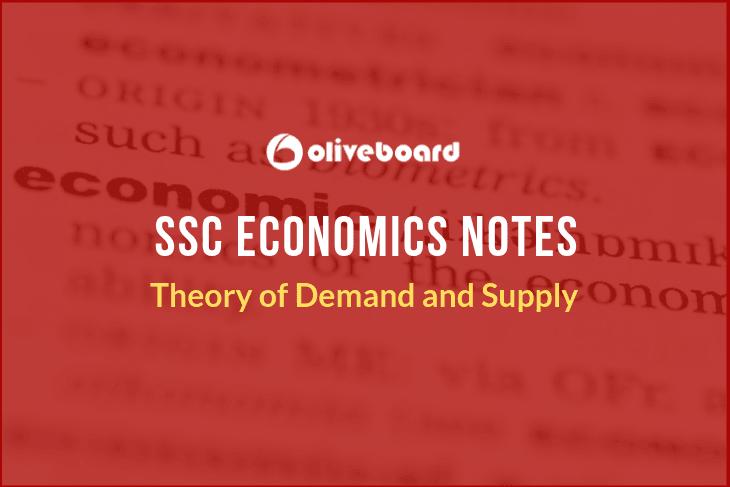 ssc notes economics