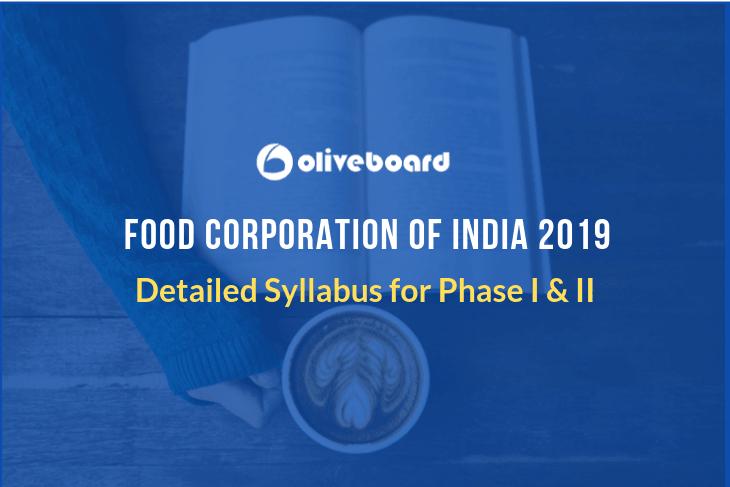 FCI Syllabus 2019
