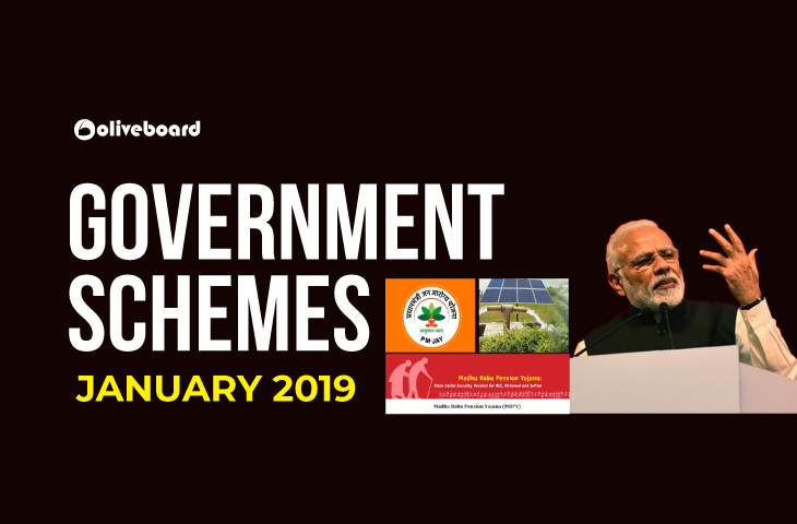 Government Schemes January 2019