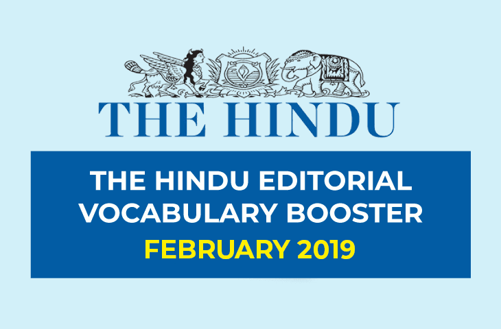 Vocabulary Booster February 2019