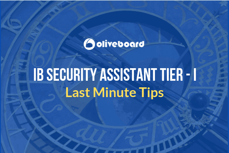 IB Security Assistant Last Minute Tips