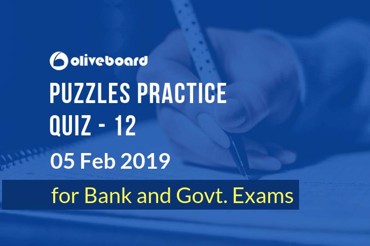 Puzzles Practice Quiz 12