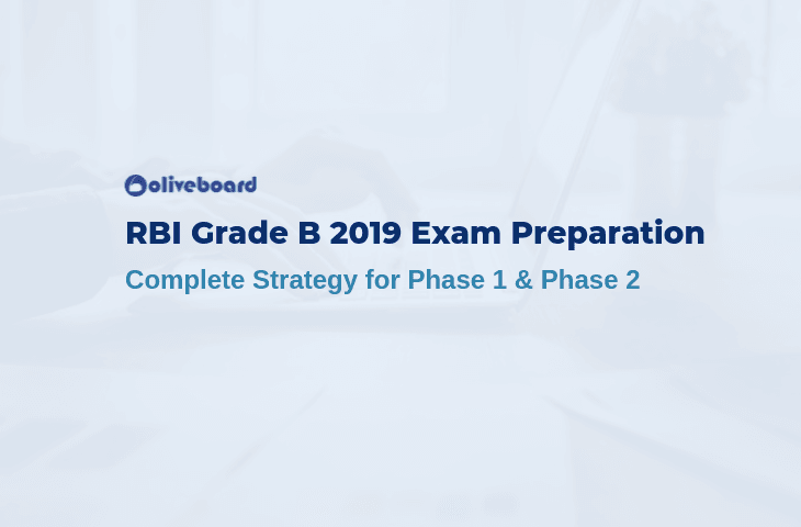 rbi grade b 2019 preparation