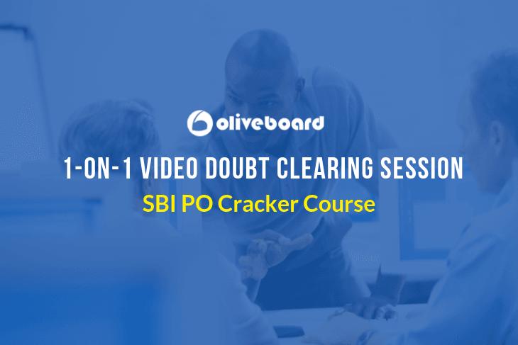 SBI PO Cracker Course 2019