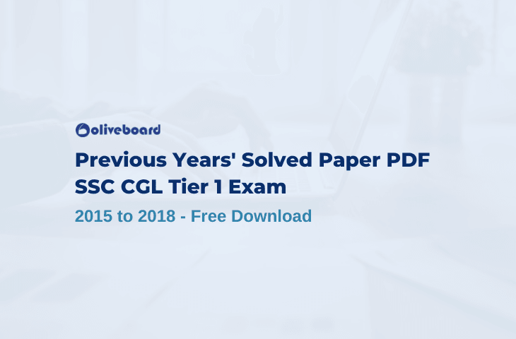 SSC CGL Tier I Previous Years' Solved Papers 1