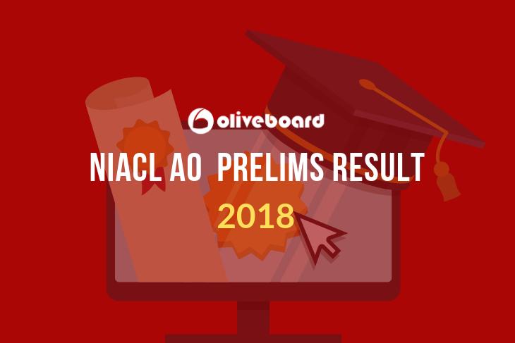 niacl ao prelims result 2018