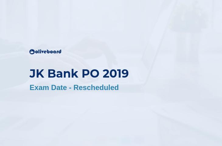 JK Bank Exam Date