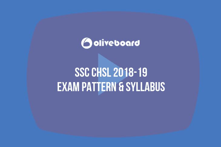 SSC CHSL Exam Pattern & Syllabus 11
