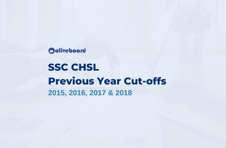 SSC CHSL Previous Year Cut Off
