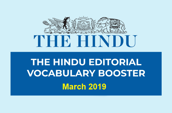 Vocabulary Booster March 2019
