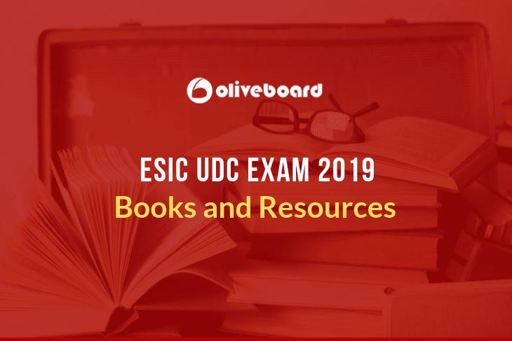 ESIC UDC Exam Books
