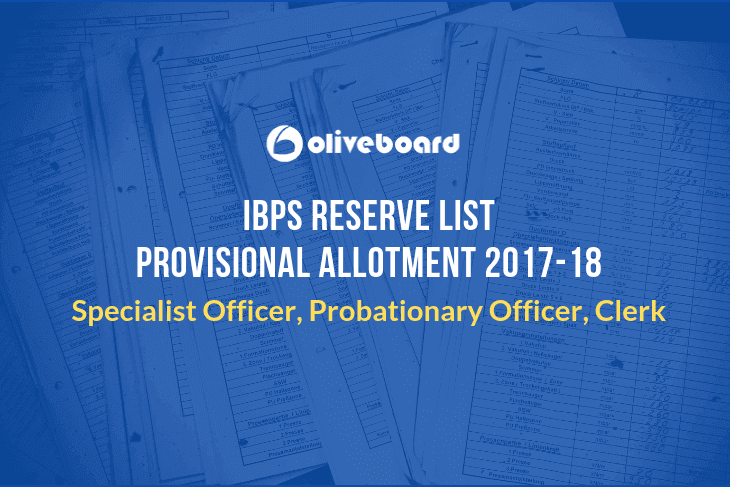 IBPS Reserve List