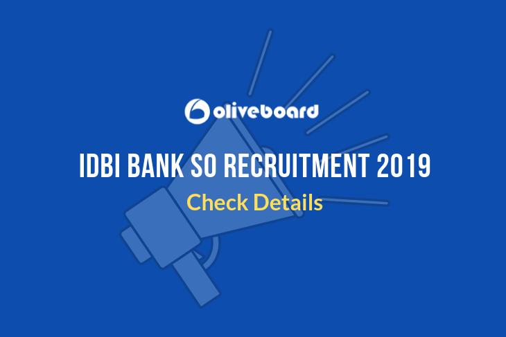 idbi so recruitment 2019