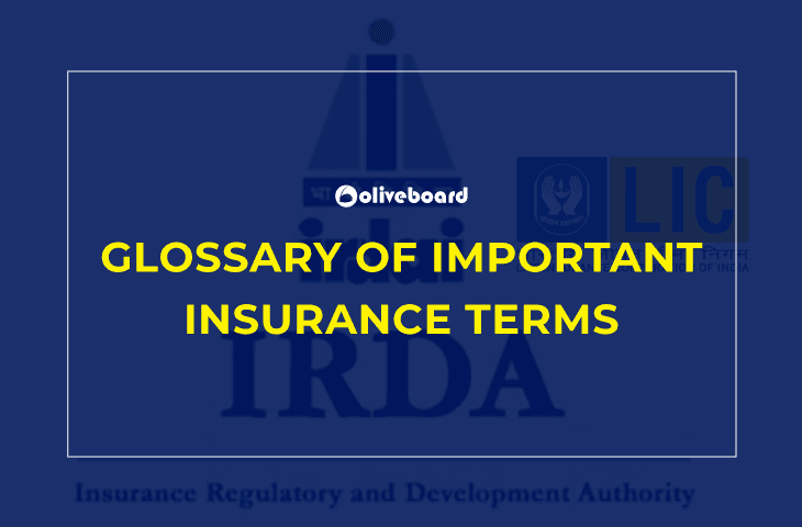 Important Insurance Terms