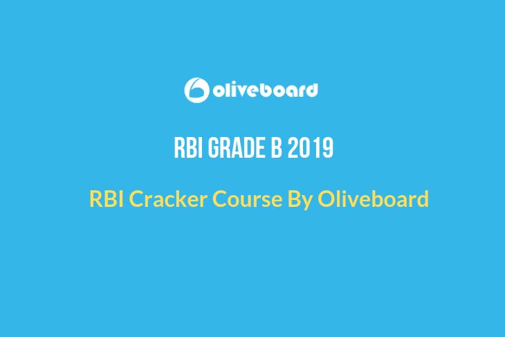 RBI Grade B 2019 Cracker Course