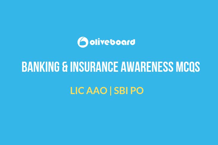 Best Banking & Insurance Awareness MCQs